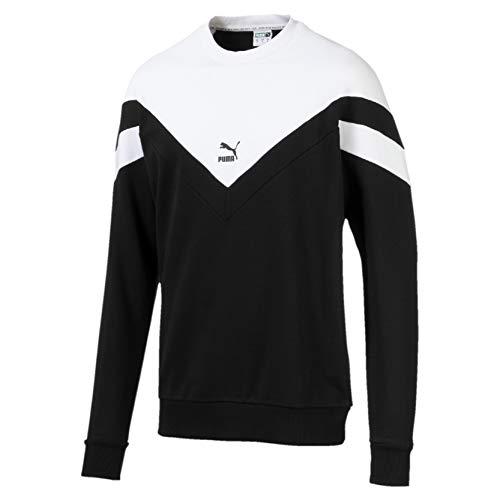 Puma Iconic MCS Crew TR Sweat Shirt Homme Puma Black FR : L (Taille Fabricant : L)