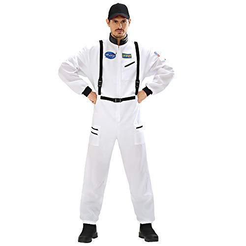 WIDMANN Disfraz de adultos astronauta, Blanco, Medium