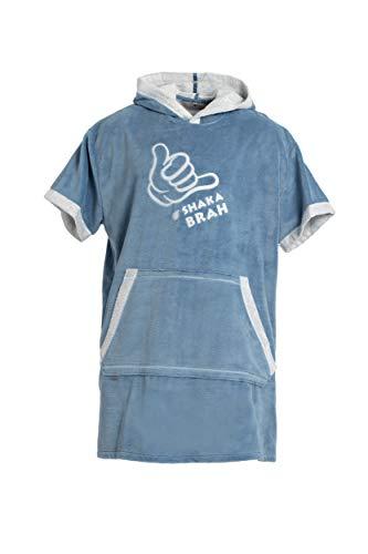 Revise RE-852 - Poncho de surf para niños, mujeres, hombres, batas cambiantes, albornoz, toalla, Qucik Dry en la playa, piscina, casa