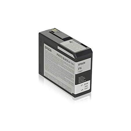 Epson T5807 Tinte Foto Hell Schwarz Standardkapazität 80ml 1er Pack Bürobedarf Schreibwaren