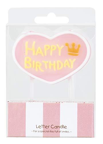 レターキャンドル 【ハッピーバースデー ピンク】 ろうそく キャンドル 誕生日 パーティー