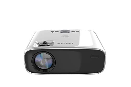 Philips NeoPix Easy+ Mini Video Projector, 80 Inch Display, Wi-Fi Screen Mirroring, Bluetooth, Built-in Media Player, HDMI, USB, microSD, 3.5mm Audio Out Photo #6