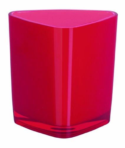 Spirella 10.15488 Trix Acrylique Verre à Dents Rouge