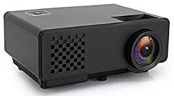 Dinshi Infinix+ (WiFi) Full HD Projector 1000 Lumen LED Projector with HDMI/VGA/USB Ports/inbuilt miracast & YouTube,Dinshi,Dinshi Infinix+ Black