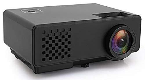 Dinshi Infinix+ (WiFi) Full HD Projector 1000 Lumen LED Projector with HDMI/VGA/USB Ports/inbuilt miracast & YouTube - Black