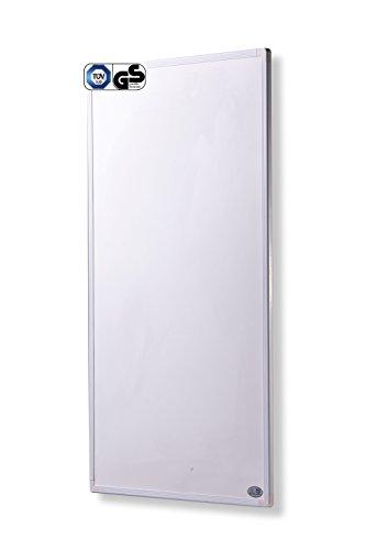 Infrarot Heizung mit Digitalthermostat 130, 300, 450, 600, 800, 1000 Watt Elektroheizung mit Stecker für Steckdose - 5 Jahre Herstellergarantie- Elektroheizung mit Überhitzungsschutz