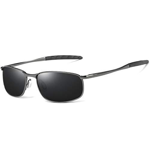AORON Gafas de sol polarizadas para hombre al aire libre, gafas de deporte UV400 protección de conducción gafas de sol para hombre