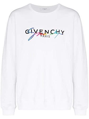 Givenchy Luxury Fashion Herren BMJ03C30AF100 Weiss Baumwolle Sweatshirt | Frühling Sommer 20