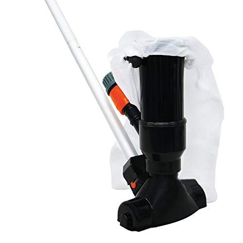 Aspirateur portatif de Piscine de Jet de Vide de Piscine portative pour des piscines Hors Terre tête d'aspiration de Bec avec la Tige télescopique de Piscine de 135CM