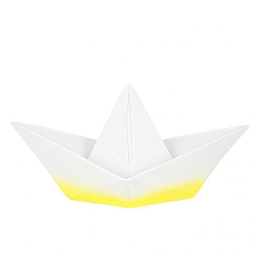 GOODNIGHT LIGHT Lámpara Barco Origami–Yellow Dip