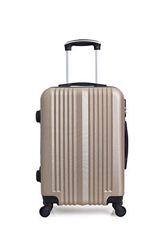 Hero Lipari Suitcase, 66 cm, 60 liters, Beige (Champagne)