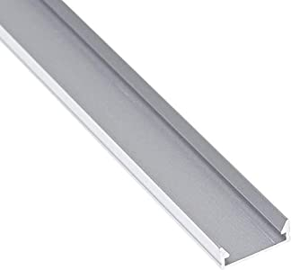 Jandei - Perfil Aluminio Tira led 2 Metros Superficie 14 x 5 mm
