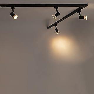 Qazqa Plafonnier | Lampe au plafond Moderne - Jeany Lampe Noir - GU10 - Convient pour LED - 5 x 50 Watt