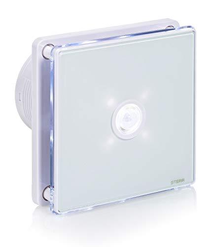 STERR - Badezimmerlüfter mit LED-Beleuchtung mit PIR Bewegungsmelder - BFS100LP