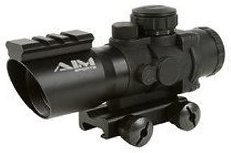 4X32 Tri-Illuminated Scope with Single Weaver Rail / Recon Series by Aim Sports Inc
