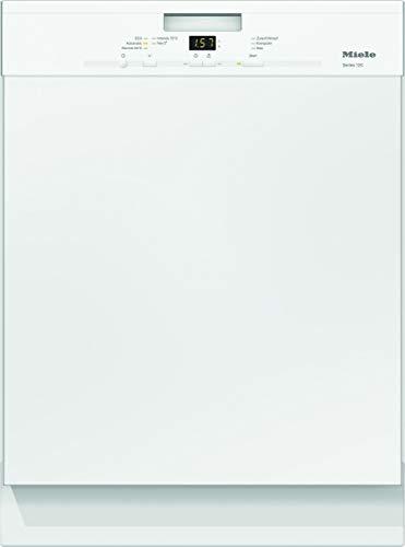 Miele G 4943 U Series 120 Unterbaugeschirrspüler mit Besteckkorb / A+++ / 234 kWh / AutoOpen-Trocknung / 13 Maßgedecke / Brillantweiß / 45 dB / 5 Spülprogramme