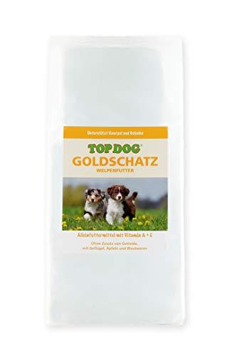 TOP Dog Goldschatz - Welpenfutter - Trockenfutter - ohne Zusatz von Getreide (1x 2,5 KG)