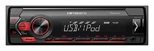 カロッツェリア(パイオニア) カーオーディオ 1DIN USB MVH-3600