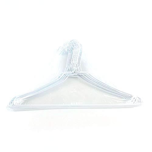 オリタニ 針金ハンガー φ2.7×40cm幅 25本セット カラー (03ホワイト)