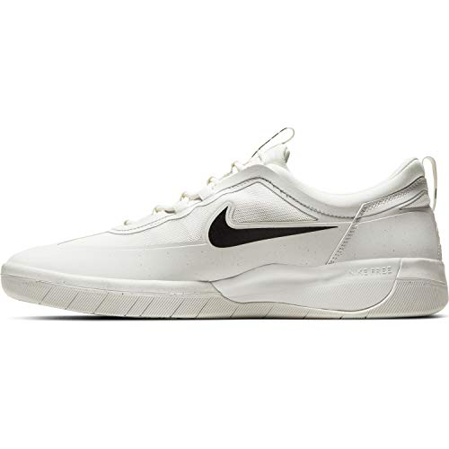 Nike Mens Sb Nyjah Free 2.0 Summit White/Summit White/Blac Bv2078 100 - Size 8.5