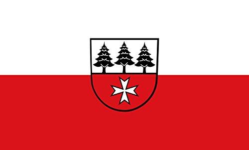Unbekannt magFlags Tisch-Fahne/Tisch-Flagge: Jettingen 15x25cm inkl. Tisch-Ständer