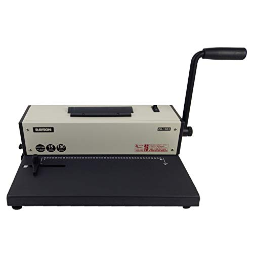 Rayson PD-1503 Coil Binding Machine 4:1 Binder with Electric Coil Inserter
