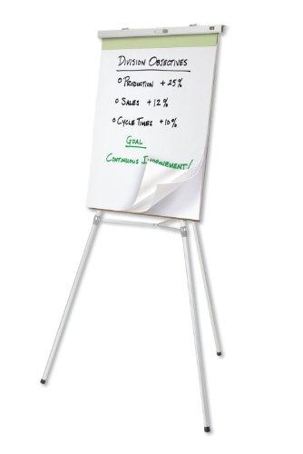 "Quartet Heavy Duty Flipchart or Display Easel, 66"" Max. Height, 35 Lbs. Max. Weight, Silver Aluminum (54ETL) Photo #3"