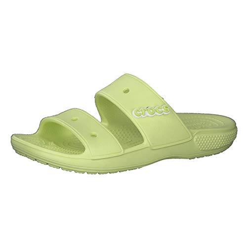 Crocs Classic Crocs Sandal Unisex - Adulto Classic Crocs Sandal, Sandali, Verde (Lime Zest), 36/37 EU