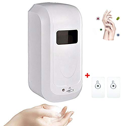 Automatic Hand Sanitizer Dispenser, Touchless Wall Mount Soap Dispenser Automatic Alcohol Spray Hand Disinfection Machine 1000ML for Kitchen School Hotel