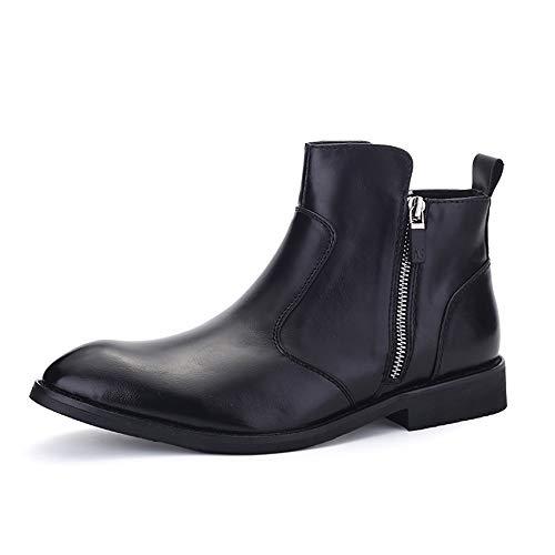 Kettle de sifflet pour la plaque de cuisson à gaz Bottes de pluie chelseaux de Chelsea Hommes Casual Highschool Top Plat Chaussures à lane Chaussures à glissière étanche à la fermeture à glissière ant