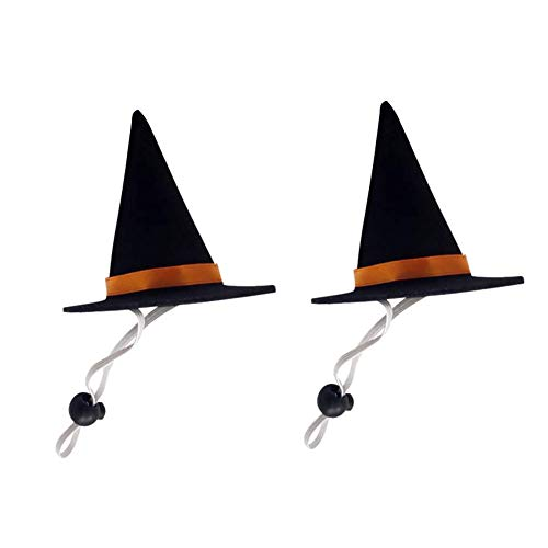 BinaryABC Halloween Pet Costume,Halloween Pet Hat Witch hat,Cat Puppy Dog Halloween Party Costume...