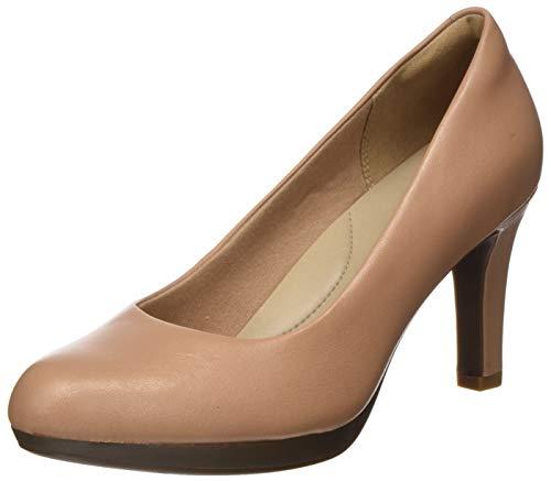 Clarks Adriel Viola, Zapatos de Tacón Niñas