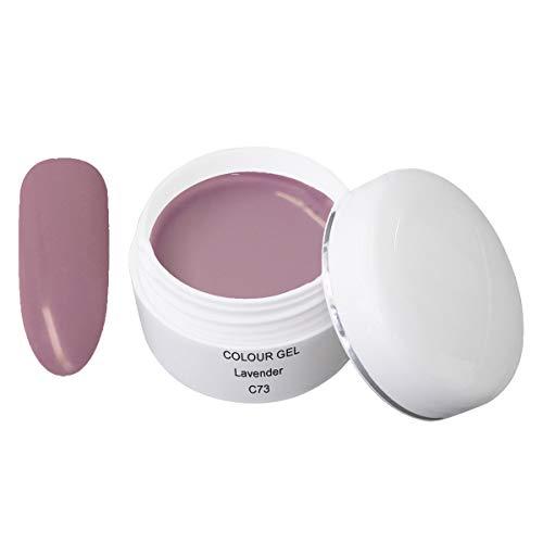 Gel de couleur LED/UV C73 Lavender 5ml - Gel de couleur UV - Gel de couleur - Gel UV