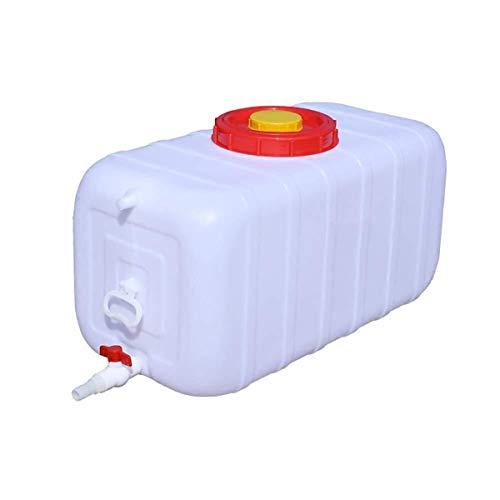 Depósito De Agua Bidón Plástico Con Grifo Contenedor De Agua De Emergencia Y Almacenamiento De Alimentos Portátiles Apilables Depósito De Agua Jarra De Agua De Almacenamiento De Cubos Para Camping Al