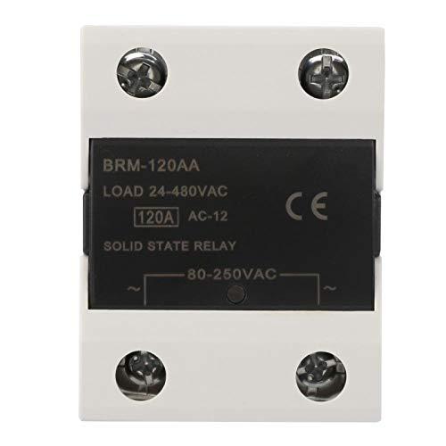 Relé de estado sólido Velocidad de conmutación rápida sin chispa 60AA / 80AA / 100AA / 120AA para semáforos semáforos(BRM-120AA)