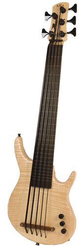 KALA KA UBASS A MAP FL5 U-Bass California Series 5 Fretless met Gigbag Maple