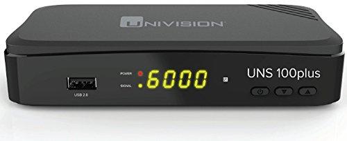 Univision UNS100+ Full HD Satelliten Receiver (HDMI/SCART/USB/EPG/PVR)