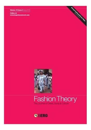 Price comparison product image Fashion Theory Volume 13 Issue 2: The Journal of Dress,  Body and Culture