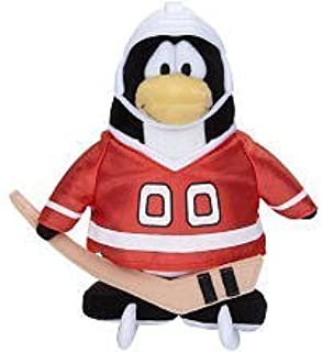 Disney Club Penguin 6.5 Inch Series 5 Plush Figure Hockey Player [Includes Coin with Code!]