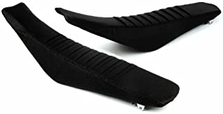 Face Lift Unlimited Pleated Seat Cover Black for Honda CRF450R