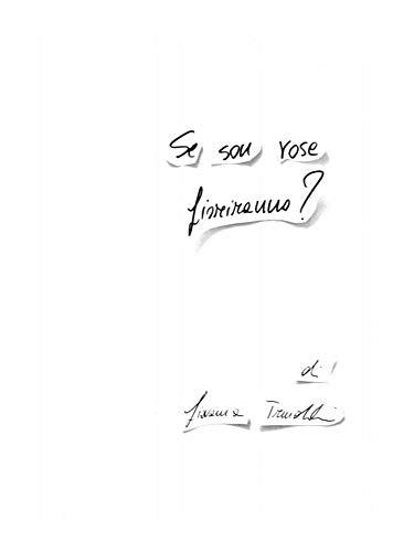 Amazon Com Se Son Rose Fioriranno Italian Edition Ebook Trimoldi Giovanna Kindle Store