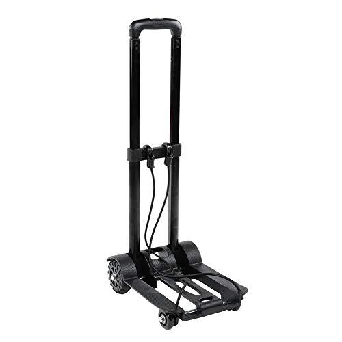 Chariot pliant, chariot à bagages pliable robuste pour chariot à main pliable portatif pour le voyage d'achat