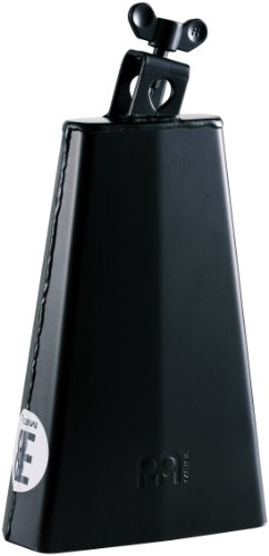 Meinl Percussion HCO2BK Cowbell, Headliner Series, 20,32 cm (8 Zoll) Länge, schwarz