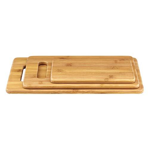 Planche à Découper 3 Pièces Totally Bamboo - Modèle 20-7930 - 7