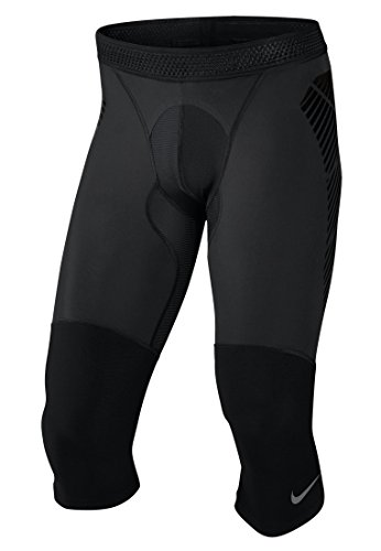 Nike Herren Vapor Slider Elite 3/4 Tight, Black/Cool Grey, S