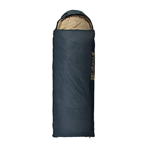 Lafuma - Active 10° XL - Erwachsenenschlafsack mit Aufbewahrungsbeutel - Synthetisch - Wasserabweisend - Camping- und Trekkingausrüstung - Komforttemperatur von 12° C - Nachtblau, North Sea/Sand