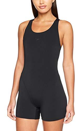 Speedo Essential Endurance Legsuit, Pantaloncini da Bagno Donna, Nero (Black), 38 (IT 48)