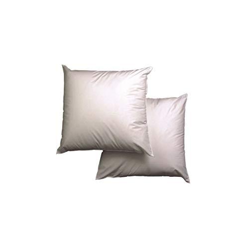 blanrêve LOACAHP016060 Kopfkissen, Anti-Milben, 60 x 60 cm, Weiß