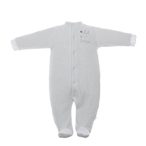 Cambrass 37104 Pelele para dormir, GRIS, 68 Unisex bebé