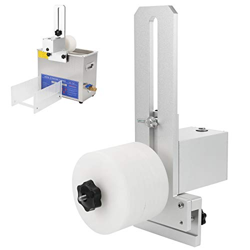 Ultraschall Schallplattenreiniger Rack, Schallplatten-Reinigungsgestell Einstellbar für Grundreinigung, 100‑240V(EU)